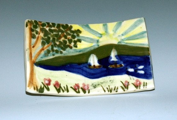 sailing to paradise soap dish