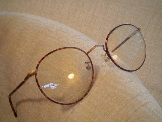 Vintage Armani Glasses Frames : Vintage Round Tortoise GIORGIO ARMANI Eyeglass Frames