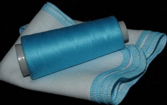 Paper Free Reusable Towels - set of 6 bright turquoise