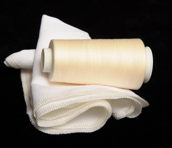Paper Free Reusable Towels - Set of 12 Cream