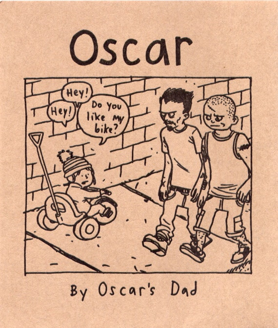 Oscar by Jeffrey Brown (signed and numbered)