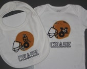 Personalized Mizzou Football Baby Gift Set