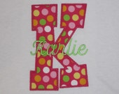 Personalized Initial Shirt