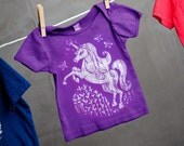 Clearance Sale - Unicorn Butterfly Baby Shirt- sized 3-6 months