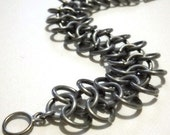 Simple 4 in 1 chainmail bracelet