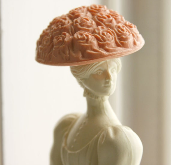 Avon Coral and Cream vintage perfume bottle Victorian Lady