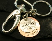 Dad Sterling Key Chain