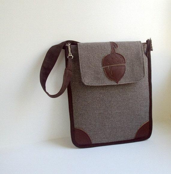 IPad case / sleeve - tweed style