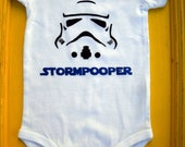 Stormpooper onsie sizes 0-12 months available
