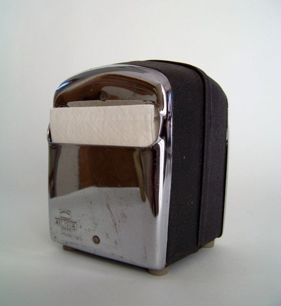 Vintage Diner Napkin Dispenser By Roomservicevintage On Etsy