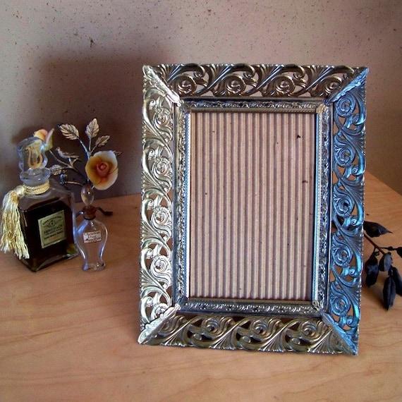 Filigree Metal Picture Frame