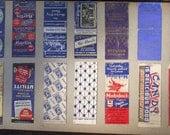 Vintage Matchbook Collection 003
