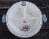 Vintage Majestic Baby Food Warming Dish c. 1950s
