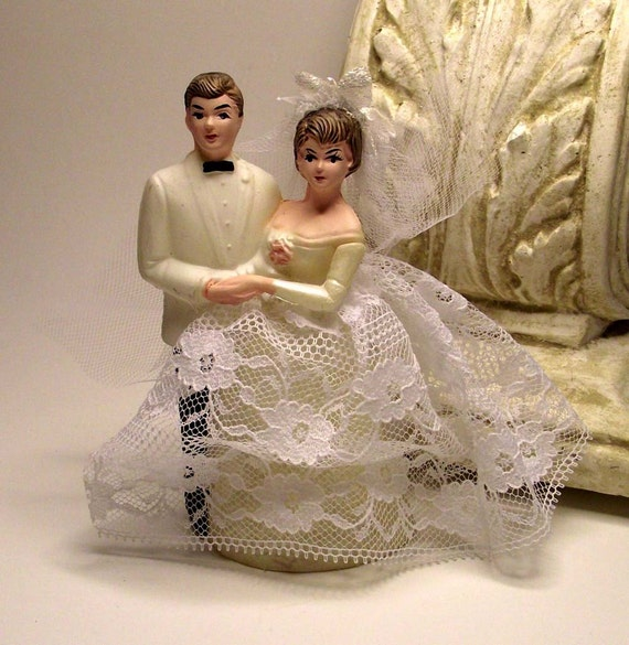 retro wedding cake toppers vintage wedding cake topper 2 19202