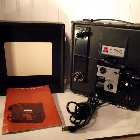 Kodak 8mm Super 8mm Movie Projector M65