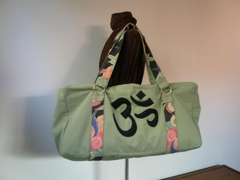 Extra Large Yoga Pilates Gym Bag Tote Bag Duffle Bag By Yoga