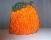 Pumpkin Hat 12-18 Months