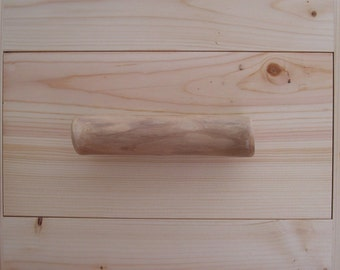 Log Drawer Pull or Cabinet Door Pull-Rustic Hardware-Rustic Home Decor for Bathroom, Kitchen or Furniture