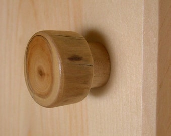 Log Cabin Knob- Cabinet Hardware for Kitchen, Bathroom or Furniture-Log Cabin Rustic Home Decor