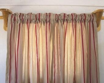 Rustic Window Treatment   Curtain Rod Brackets 1 Pair   Log Cabin Decor