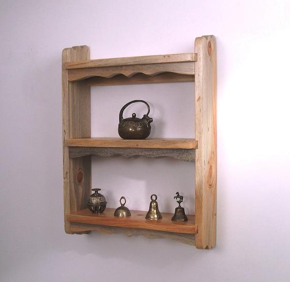 Items Similar To Rustic Wood Shelf