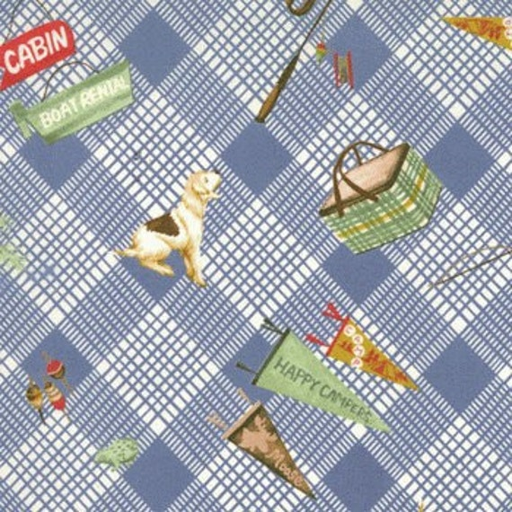 Moda Fabrics - American Jane - Happy Campers - 1 yard