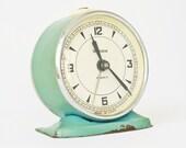 Vintage mechanical alarm clock Sevani from Armenia Soviet Union USSR