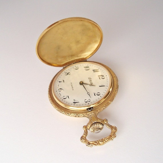 Vintage pocket watch Lord Nelson Swiss Made
