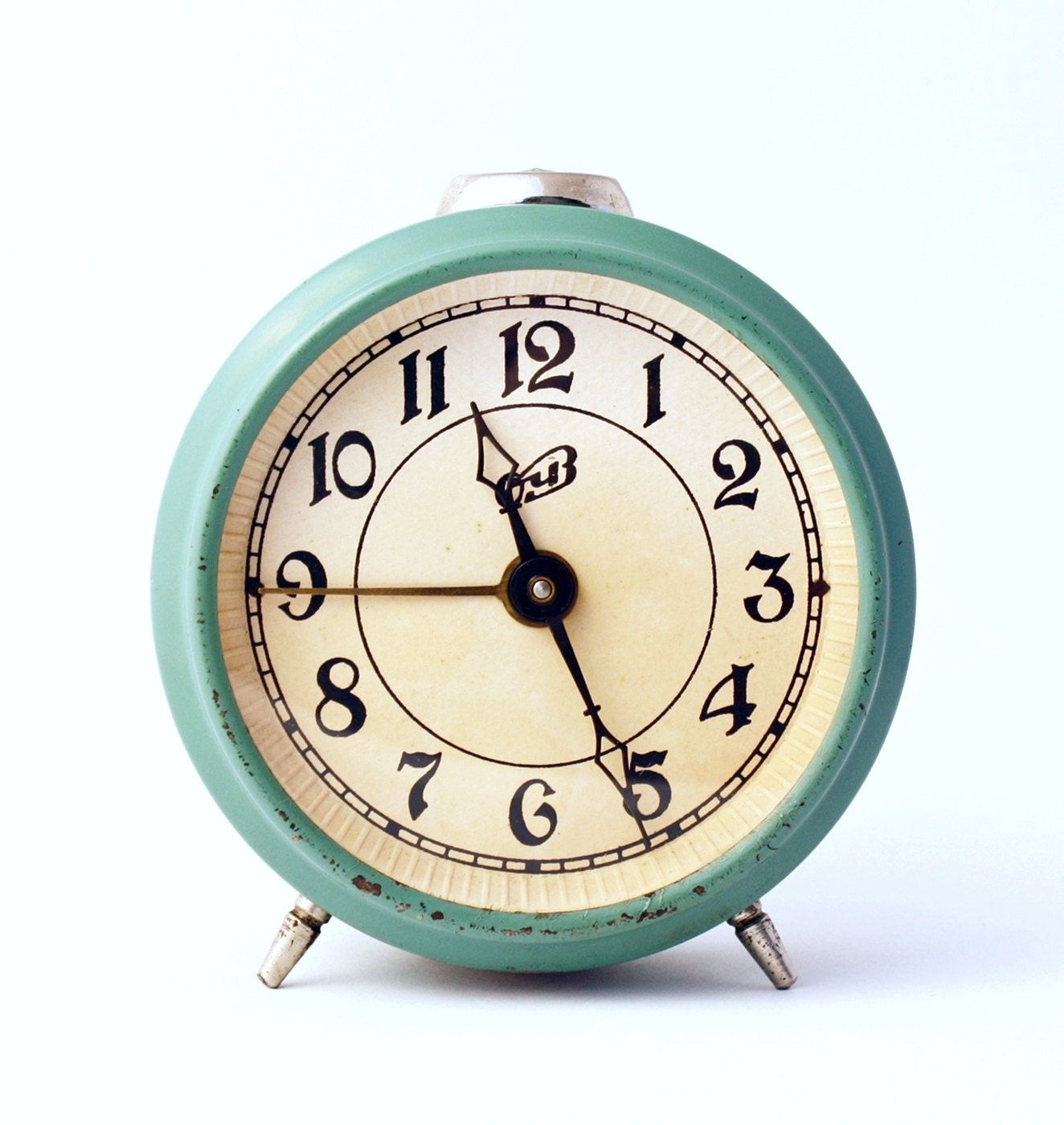 RARE Vintage Russian mechanical alarm clock by ClockworkUniverse