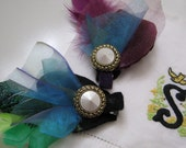 Not so Itty Bitty Pretty Vintage Inspired Hair Barrette