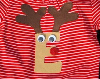 Rudolph Initial Tee