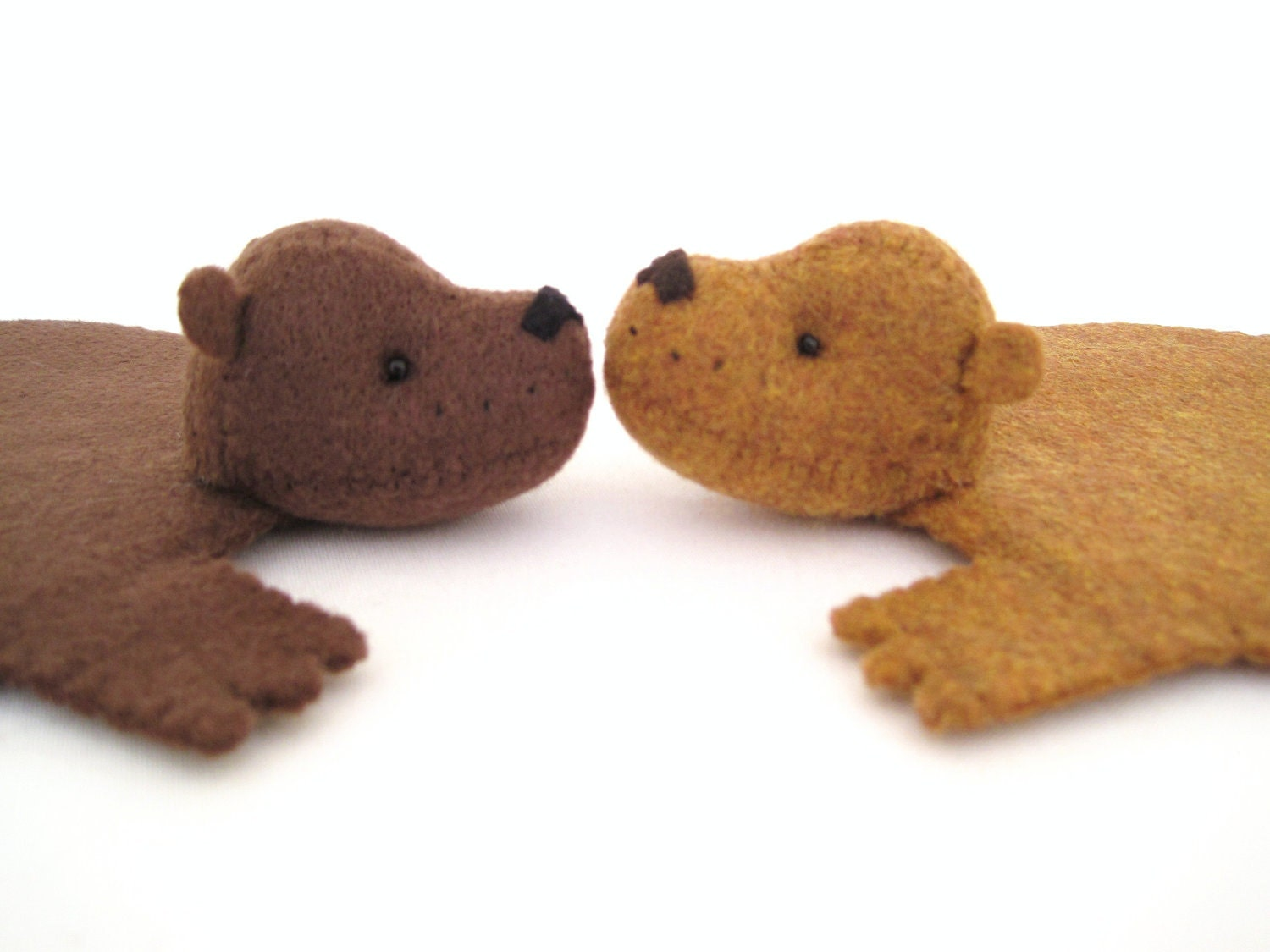 Bear Rug Coaster Set Of Two