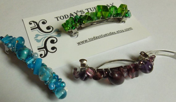 Your Choice Beaded Barrette