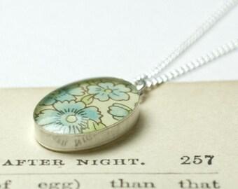 Jemima oval necklace