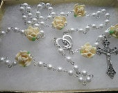 Handmade Madonna and Child Rosary