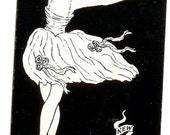 Set of 6 Vintage Retro Mod playing cardsNew York City Ballet