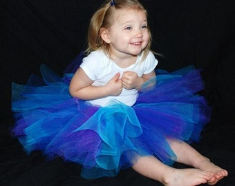 Midnight Dreams Tutu - Custom Fitted For Babies And Children