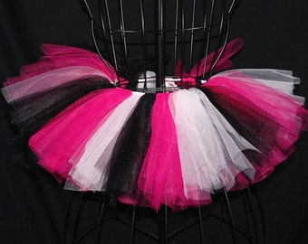Hot Pink Rocker Mini Tutu - Custom Fitted for Babies and Children