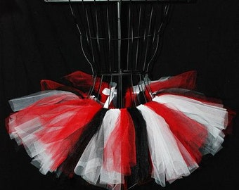 Queen Of Hearts Tutu - Custom Fitted For Babies And Children