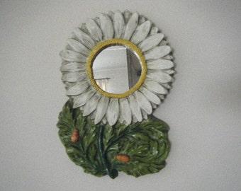 Resin Daisy Mirror