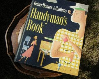 Better Homes & Gardens  Handyman's Book 1957