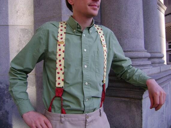 Suspenders - Ladybug nifties
