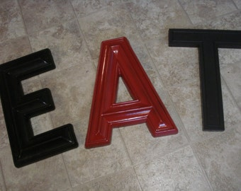 Vintage Large Movie Marquee Letter T