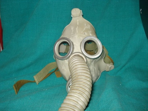 Gas Mask for Your Next Party or Bank Robbery Family Pak of Three