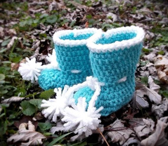 PDF Baby UGG style Boots crochet PATTERN by RAKJpatterns ...