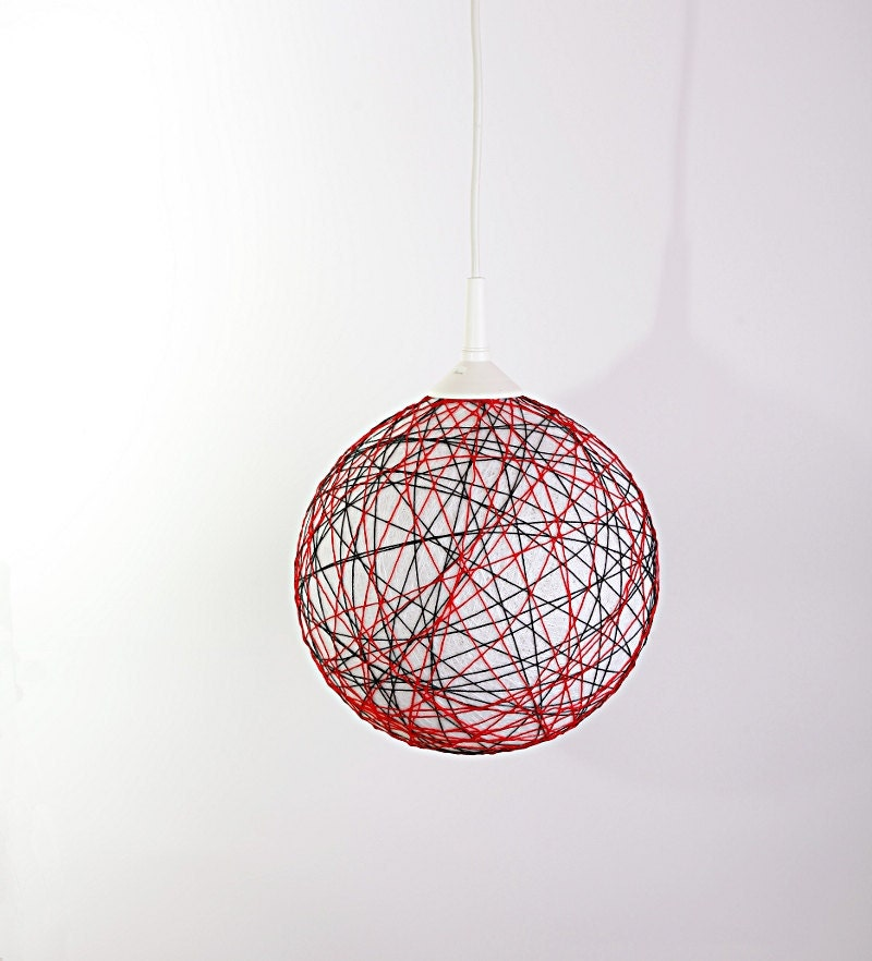 Items Similar To Handmade Lamp, Lamp Shade, Hanging Lamp
