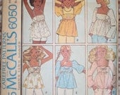 Vintage McCall's pattern - Empire-Waist tops, 4 different styles (size 16-bust 38)