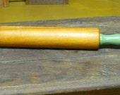 green handle rolling pin