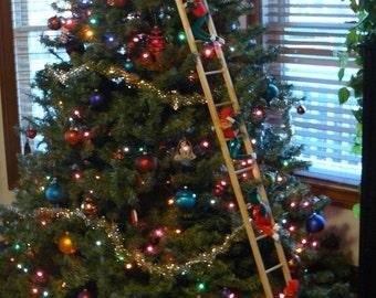 "Christmas tree ladder 72"" x5.5"""