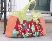 Custom large pleated bag for TheTangerineStarfish